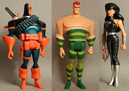 Deathstroke Jlu Hawk Body Smoothed Over With Resin